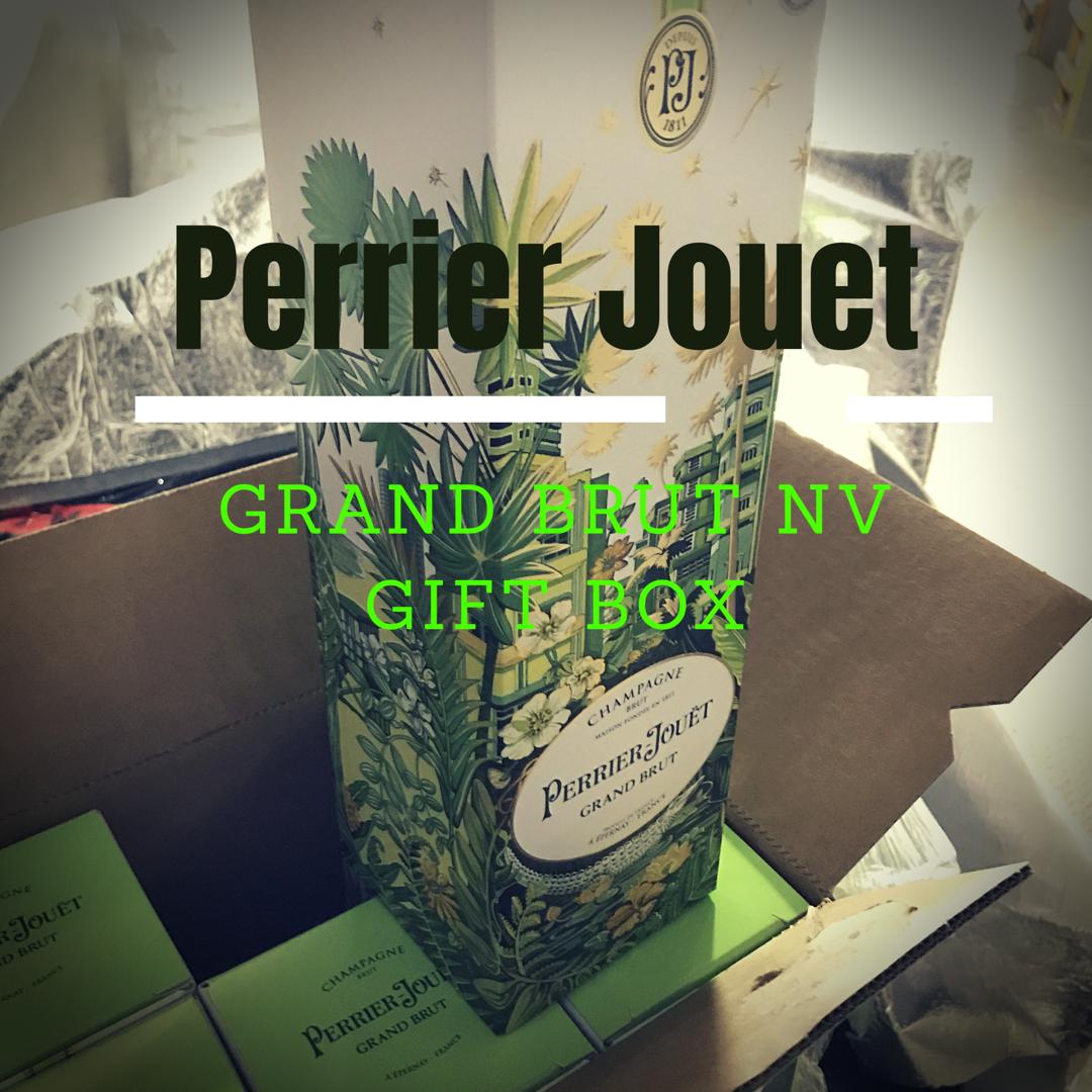 Perrier Jouet Grand Brut NV 750ml Gift Box