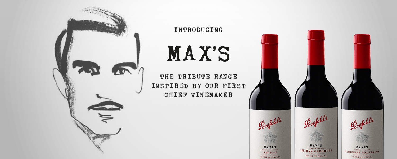 Penfolds MAX'S麥克斯經典是為了紀念前首席釀酒師麥克斯•舒伯特於1948至1975年期間為Penfolds歷史寫下的傳奇。這款首次發布的系列於麥克斯誕辰一百週年之際推出。麥克斯不斷追求卓越,為他的後輩開闢道路,亦讓Penfolds酒莊的地位及文化不斷增長。此系列為Penfolds帶來更為平易近人的風格;適合立即享飲或窖藏。Grange的創造者Max Schubert在33歲時即成為Penfolds的首席釀酒師,從此改變澳洲的葡萄酒業,更為Penfolds日後的指標性葡萄酒奠定基礎。